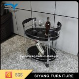 Stainless Steel Dining Serving Wine Trolley Cart