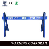 Police Warning Guardrail for Road Safety