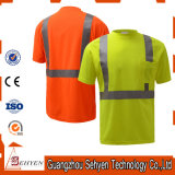 Reflective Short Sleeve Safety High Visibility T Shirt