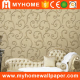 PVC Decorative Wallpaper Deep Embossed