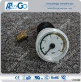 0-6 Bar Mini Air Pressure Gauge with Capillary