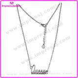 Fashion Jewelry Women Men Letter Shape Queen Custom Necklace