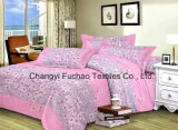 Made in China Polyester Microfiber Printed Bedding Set Used for Home