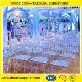 Cheap Durable Chiavari Chair Clear Knock Down Transparent Chair Wedding Use