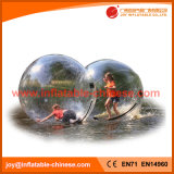 Transparent Inflatable Water Zorb Ball Water Hamster Ball Dia 2m with Germany Zip (Z1-001)