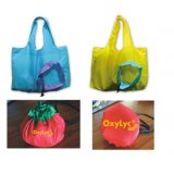 Promotional Foldable Tote Polyester Shopping Bag for Ladies
