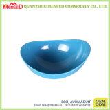 Blue Color Boat Shape Large Size Melamine Fruit Bowls