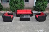 Garden Patio Wicker Rattan Lounge Set Outdoor Furniture Sofa Set (MTC-295)