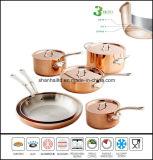 3 Layer Copper Clad Cookware Set