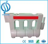 Safety Reflective Traffic Barriers with Water-Filled