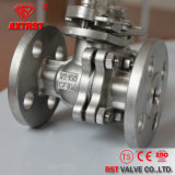 API Stainless Steel Floating Flanged 2PC Ball Valve