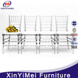 Popular Knock Down Transparent Resin Party Chiavari Chair Wholesale