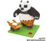 10172387-Panda Shape Building Block