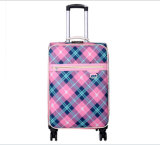 Lattice Work Fashion Luggage Lady