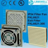 China Manufacturer Electrical Contol Panel IP54 Filter Fan (FKL6621)