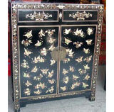 Asia Furniture Antique Reproduction Painted Cabinet (LWB151)