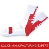 Men′s Professional Cotton Elite Basketball Socks