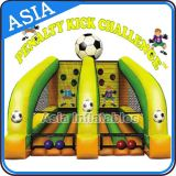Fairground Inflatable Football Kicking Challenge Sports