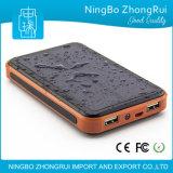 8000mAh 10000mAh Waterproof Portable Solar Power Bank for Mobile Phone Made in China
