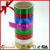 SGS Green Holographic Film Curly Ribbon for Gift Packaging