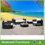 5 PCS Rattan All Weather Wicker Patio Furniture