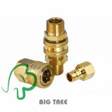 Pneumatic Coupling None Valve Quick Coupler (NITTO) for Car Washer