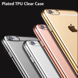 4colors Gold Plate Soft TPU Mobile Cell Phone Case