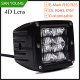 Flush Mount 3 Inch Cube 16W CREE LED Work Light off Road Truck