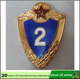 Customized Metal Shield Emblem/Coat of Arms