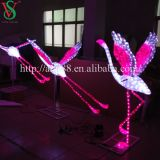 LED 3D Animal Flamingo Sculpture Light
