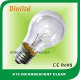 A15 E27 Incandescent Bulb