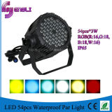 54PCS LED Waterproof PAR Light for Stage Lighting (HL-034)
