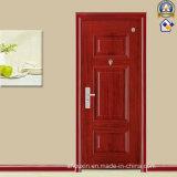 Classic Manufactory Red Spell Wooden Steel Door (sx-24-1082)