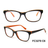 Hq Solid Color Acetate Optical Frame Women Spectacle FC3270