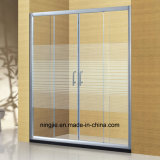 Hotel Bathroom Shower Aluminum Shower Screen (A-898)
