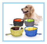 Pet Polyester Folding Collapsible Fabric Bowl
