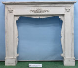 Shabby Chic Vintage Antique Indoor Freestanding Decoritive Mantel Fireplace