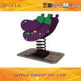 Kid Toy Eggplant Spring Rider (PE Sr-29104)