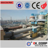 China Competitive Environmental Protection Small Active Lime Machinery Factory