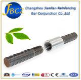 Steel Mechanical Threaded Rebar Coupler Rapid Connector