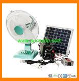 Protable Small Solar Lighting Kit Fan