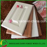 18mm Carved PVC Moulded Kitchen Cabinet Door in Matt Surface