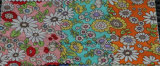Colorful Cotton Printed Floral Fabric Tie