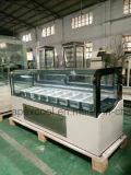 Table Top Design Ice Cream Gelato Display Showcase Freezer
