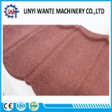Excellent Features Colorful Bond Type Stone Coated Metal Roof Tile