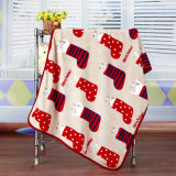 Factory Price Printed Animal Flannel Fleece Soft Baby Blanket
