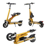 Portable 8 Inch Mini Electric Folding Scooter with Kids Seat