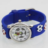 Japan Movement Kids Silicone Watch with Football