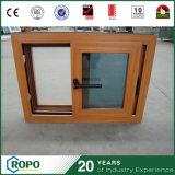 UPVC Soundproof Wood Doors and Windows Double Glazing