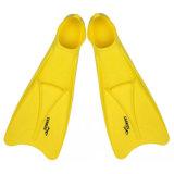 Thenice Snorkeling Long Flippers Webbed Flippers Scuba Surfing Suit Yellow S36-38